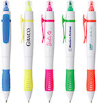 Doral Dual Tip White Pen Highlighters